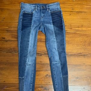 Blanknyc two toned jeans